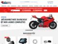 Pièces détachées, accessoires et équipements moto racing