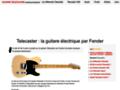 Telecaster : la première guitare électrique Fender