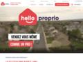 Hello Proprio - Vente immobilière