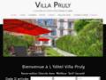 Détails : Hôtel Pruly, Chambres 3 étoiles à Cannes