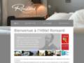 Dormir à Tours, Hotel Ronsard