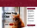 Voir la fiche détaillée : J'aime trop chat : le blog des chats heureux
