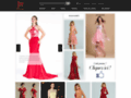 Détails : Soyez une étoile brillante dans robe de cérémonie jmrouge