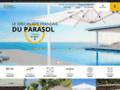 Détails : parasol déporté