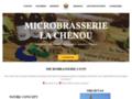 Microbrasserie La Chénou : du brasssage à la dégustation
