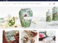 Détails : Laure Selignac, porcelaine raffinée
