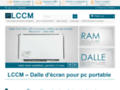 Détails : LCCM, vente de dalle LCD pour PC portable