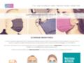 Masque tissu lavable UNS1 Achat masque de protection 50 lavages