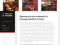 Restaurant Neuilly: Le PasSage