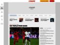 Détails : L'Equipe.fr,  toute l'actualité du sport en direct