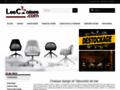 Vente de chaises design et tabourets en cuir