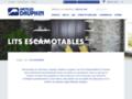 Voir la fiche détaillée : LIT ESCAMOTABLE ACHAT - lit escamotable à vendre