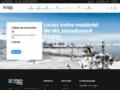 Détails : location ski et snowboard pour enfants