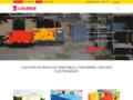 Détails : Locasix: location de container, mât d'éclairage, groupe électrogène, etc.