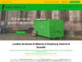 Voir la fiche détaillée : Alsace Recycle location de bennes et enlèvement d'encombrants