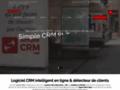 LUG CRM - Logiciel de CRM - GRC pour TPE, independant et auto-entrepreneur - CRM en cloud (en ligne) - Saas