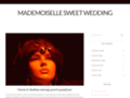 Détails : Mademoiselle Sweet Wedding