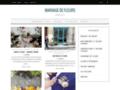 Voir la fiche détaillée : composition fleurs mariage