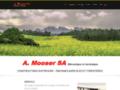 Société A.Mooser – machines agricoles et forestières