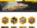 Miel du Jura - Le rucher du Djé - Ruche et élevage d'abeille