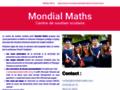 Détails : Mondial Maths