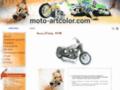 Détails : Moto artcolor