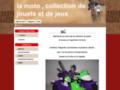 Détails : Jouet moto collection