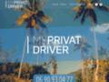 Voir la fiche détaillée : Chauffeur privé VTC Guadeloupe - My Privat Driver