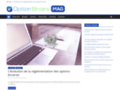 Optionbinairemag : Explications sur les options binaires