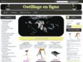 Voir la fiche détaillée : Outillage en ligne pas cher - Vente en ligne d'outils pas cher, +4000 références