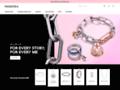 Bijoux en or Pandora