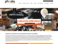 Phodia - publicité PLV gonflable