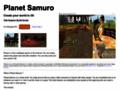Planète Samuro : visitez notre monde virtuel 3D