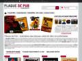 Voir la fiche détaillée : Acheter des plaques publicitaires en ligne