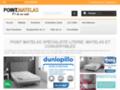 Meilleurs choix de matelas en latex naturel de la marque française Dunlopillo
