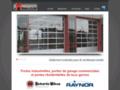Porte industriel et porte de garage commercial de grande qualité