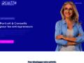 Présentation d'un site pour les entrepreneurs de l'internet
