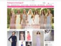 Détails : Robe glamoureuse de mariage en ligne