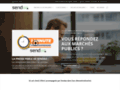 Détails : Dépôt automatique et électronique des appels d'offres avec Sendao