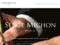 Détails : Serge Michon Avocat - Droit Criminel Et Pénal
