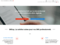 SMSup – plateforme suisse de SMS professionnels