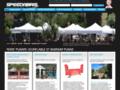 Détails : Speedabris : barnums et tentes pour jardins