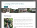 Détails : Camping moto Saint Pardoux