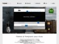 Des templates et thèmes de site web