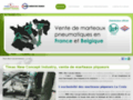 Timac New Concept Industry à Gembloux : vente de marteaux piqueurs pneumatiques La Croix