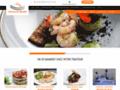 Détails : Le site pour y découvrir un traiteur et sa cuisine.