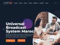 Universal broadcast system Maroc installation Radio/TV au Maroc