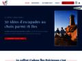 Détails : Coffret cadeau week-end sur île