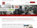 OF MECA: Mécanique de précision et usinage à Feuguerolles-Bully