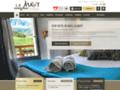 Détails : Hotel La Mayt, Vars Risoul Hautes Alpes, au pied des pistes spa fitness